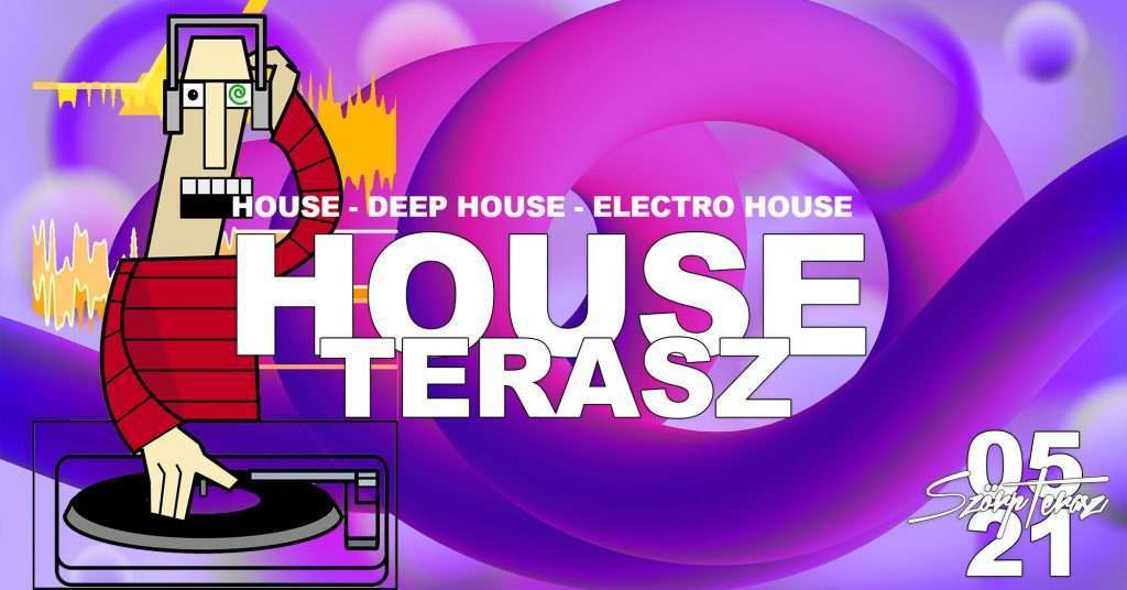 ➤ 100% HOUSE MUSIC TERASZ /- BY MATUA Új Zéland! 05.21